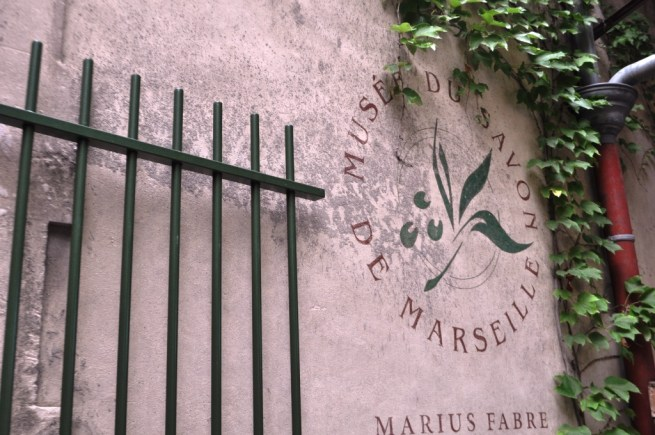 Entrance to the Marius Fabre Soap Factory