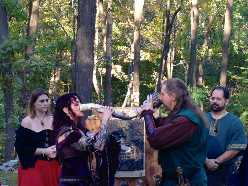 sharing mead