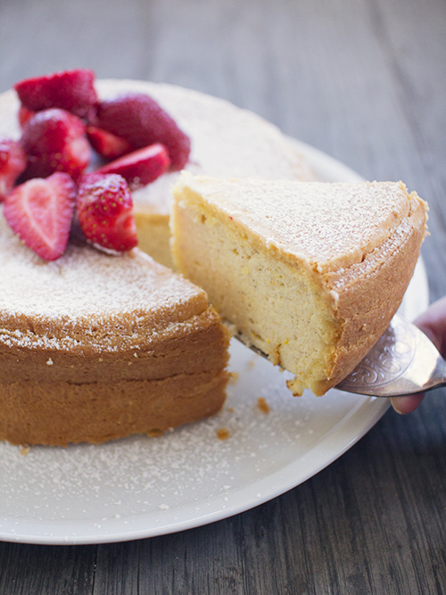 Italian Ricotta Cake - Spicyicecream