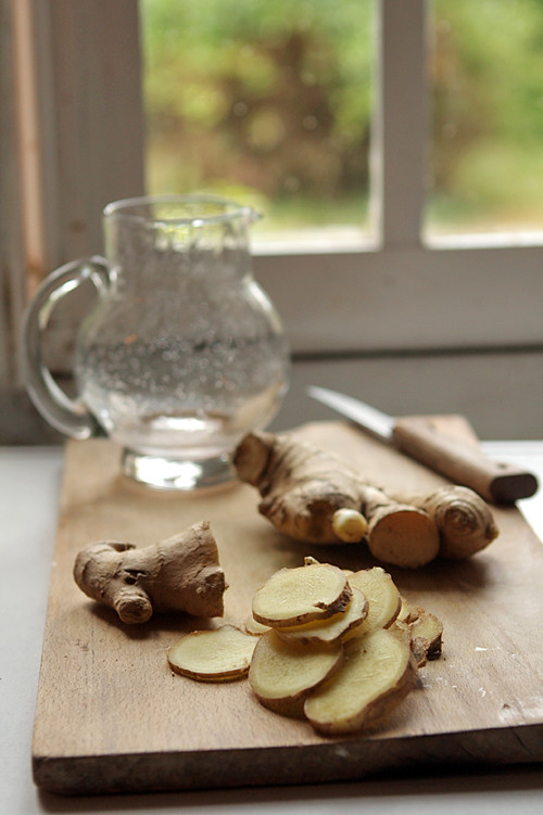 fresh ginger syrup recipe