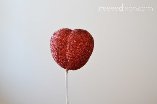 Valentine Heart Bouquet Step 4