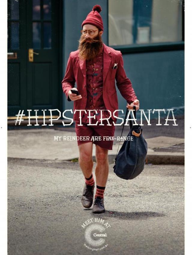 #HIPSTER SANTA 2