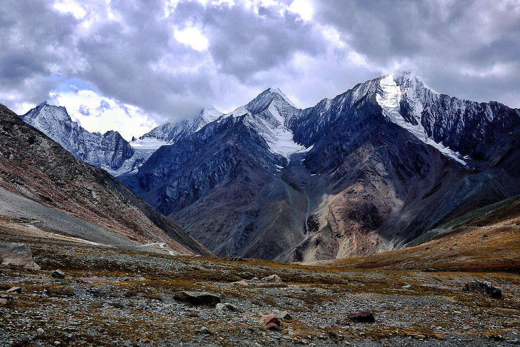 Storm Clouds on Kunzum La
