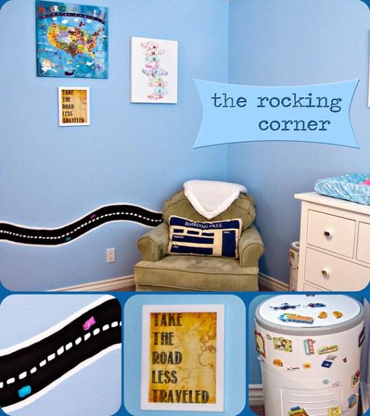 rocking corner