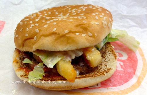 Burger King French Fry Burger