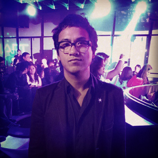 Ely Buendia at Smart event