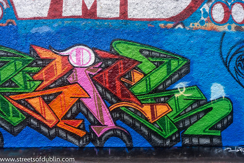 Street Art   Windmill Lane (Dublin)