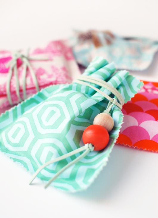 DIY: Fabric Gift Bags
