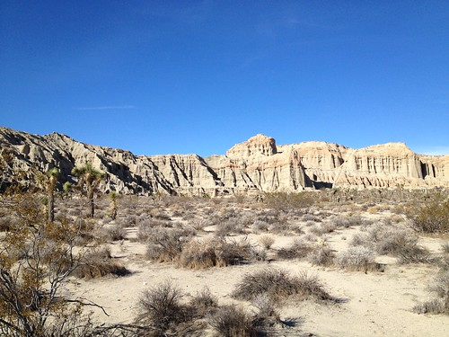 Camping at Red Rock Canyon State Park in California