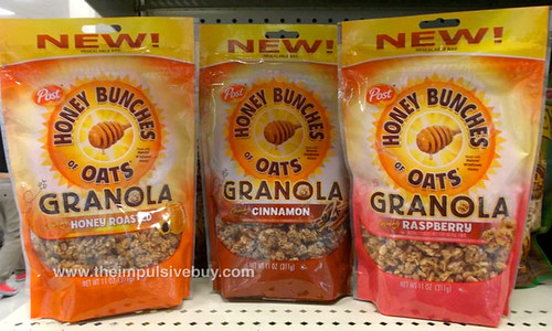 Post Honey Bunches of Oats Granola
