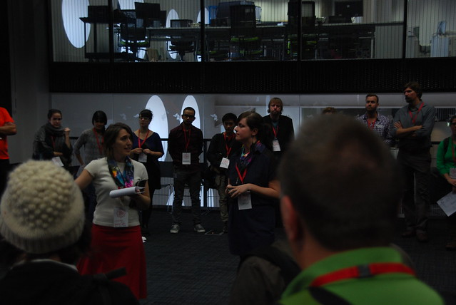 Mozilla Festival Build and Teach the Web Space Wranglers