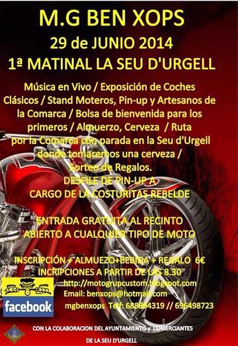 1ª Matinal Ben Xops - La Seu d'Urgell