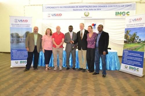 Programa de adaptação das cidades costeiras de USAID em parceria com Conselho Municipal de Quelimane
