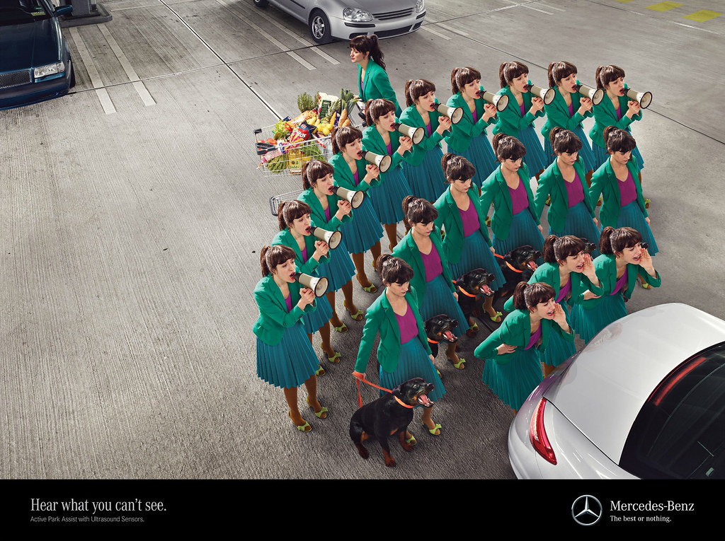 Mercedes - Hear what you can't see 2