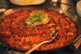 Rossejat toasted noodles at Ataula
