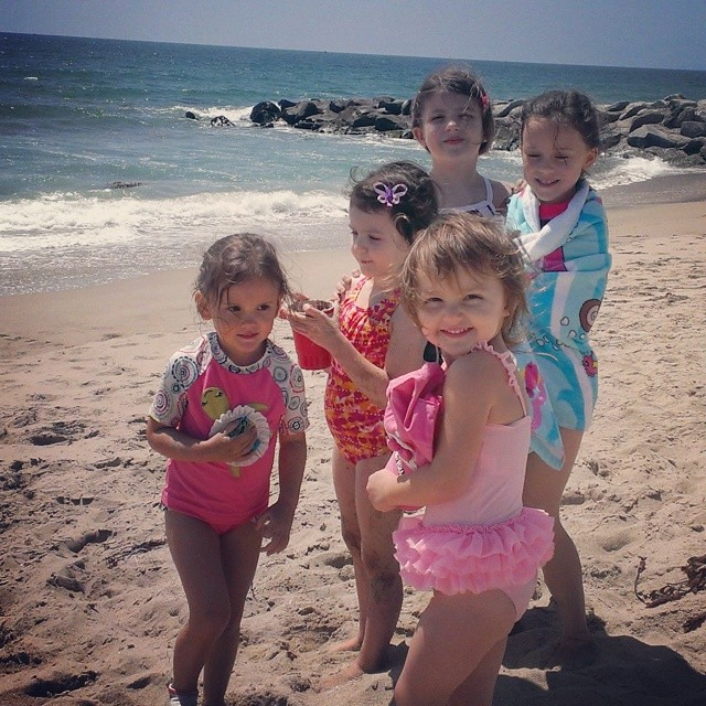 Great day with great friends! #californiakids #beachlife @devrene7