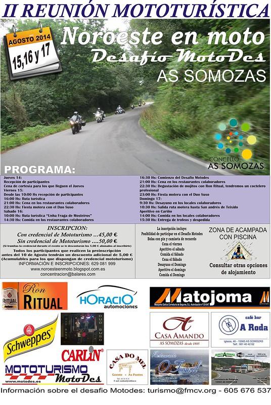 II Reunión Mototurística Noroeste en Moto - As Somozas