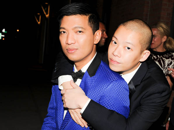Bryanboy and Jason Wu