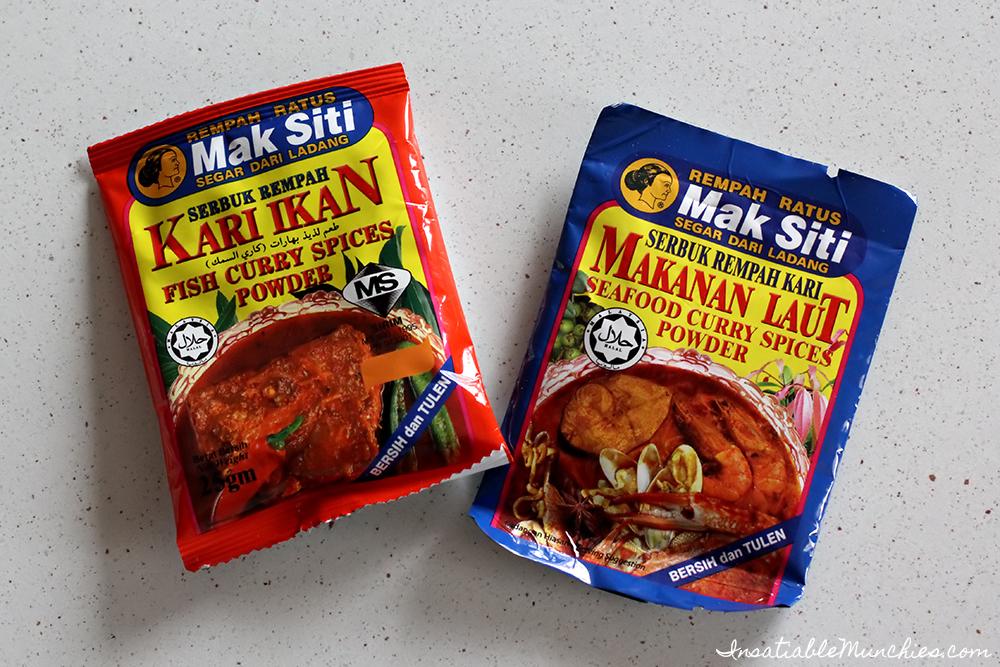 Kari Ikan Fish Curry Spice Powder - Makanan Laut Seafood Curry Spices Powder
