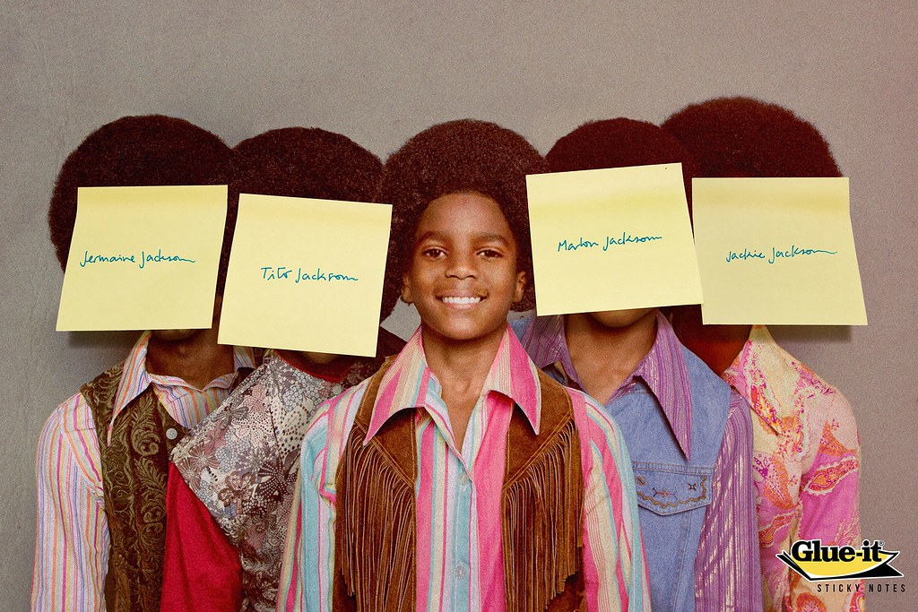 Glue It - Jackson 5