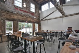 Expansive tasting bar area | Main Street Brewing
