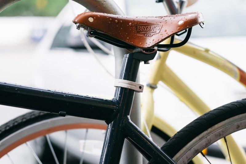 105/365 - Wet leather saddles
