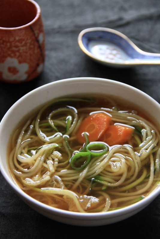 Quick Japanese Soup, gluten free