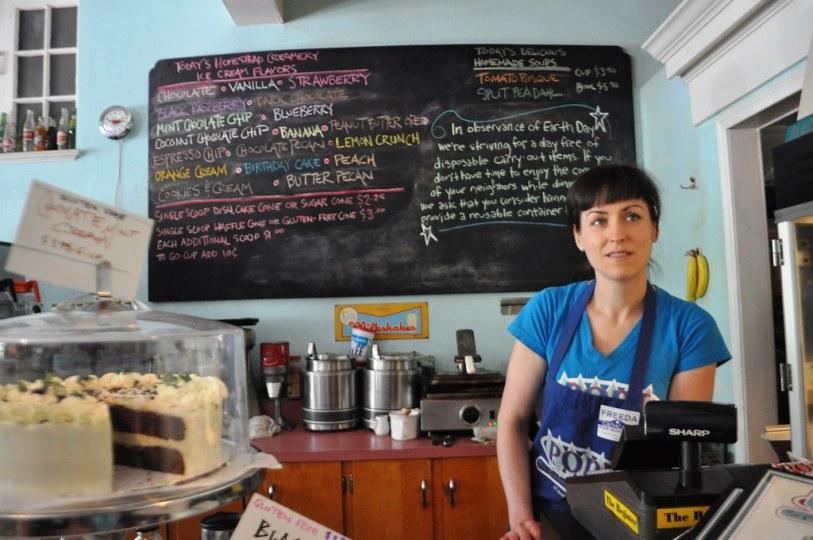 For Fresh, Creamy Ice Cream, Visit Pop's in Grandin Village, Roanoke, Va.