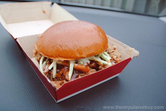 Wendy's BBQ Pulled Pork Sandwich