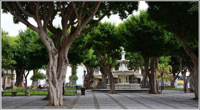 Plaza del Adelantado. San Cristobal de La Laguna. Tenerife.