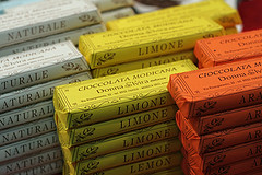 Italian chocolate bars