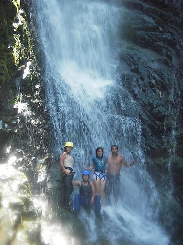 Waterfall: Chimbo River Rafting