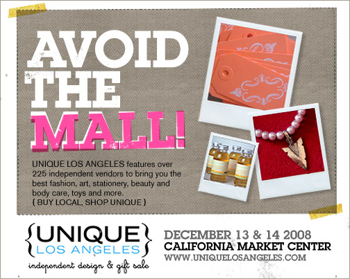 New: Unique Los Angeles Design & Gift Sale