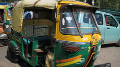 auto rickshaw with flair
