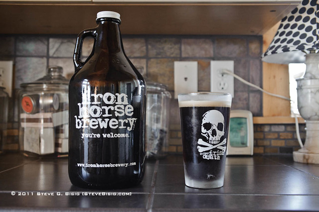 Growler of Irish Death Beer