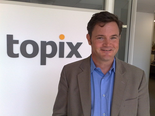 Chris Tolles, CEO of Topix