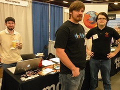 Boris, Brad, and John at the MIT Career Fair