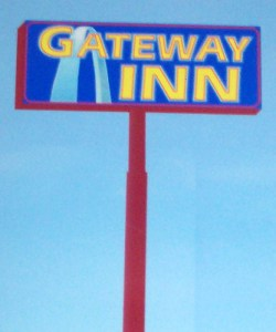 The design for the Gateways new sign.