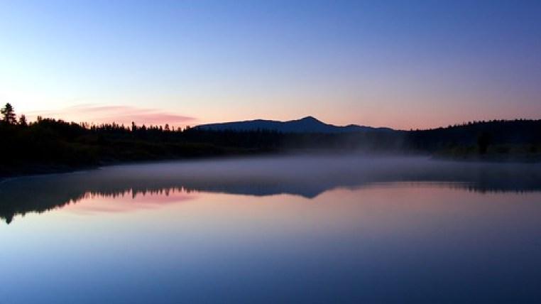 Oxbow Bend foggy at dawn, Grand Tetons
