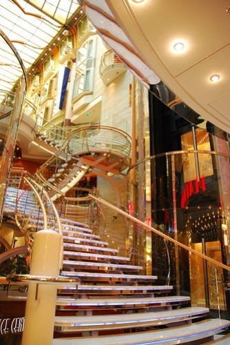 Liberty of the Seas - staircase