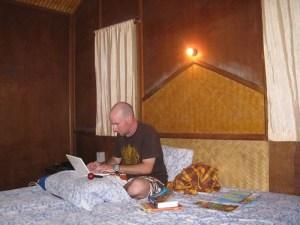 Bungalow Writing - Koh Samui, Thailand