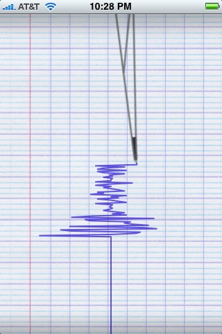 iPhone Application - Seismometer