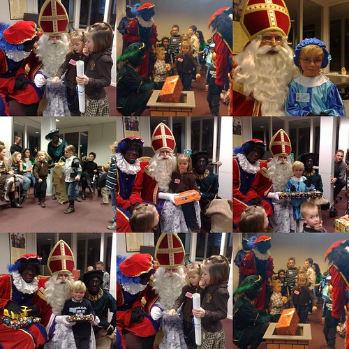 Collage Sinterklaasmiddag