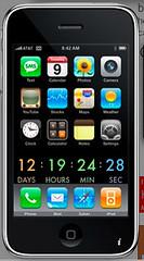 iPhone 3G Launch Widget by Daniel Brusilovsky, on Flickr