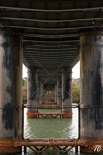 Underneath the Murray Bridge