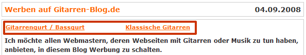 AdSense-Anzeige