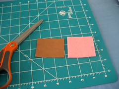 3. Measure & Cut Felt