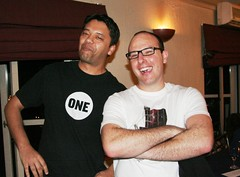 Ramon Thomas and Dave Duarte @ 27Dinner in Cape Town