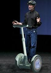 Steve Jobs on Segway