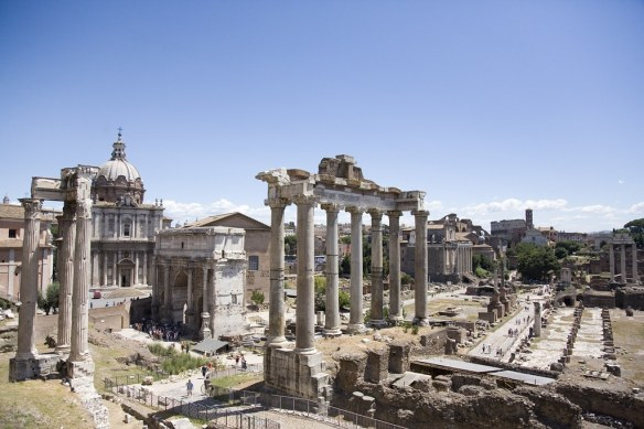 Roman forum by Mshai, on Flickr